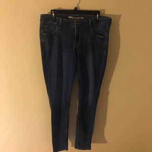 Low Rise Skinny Jeans- Long